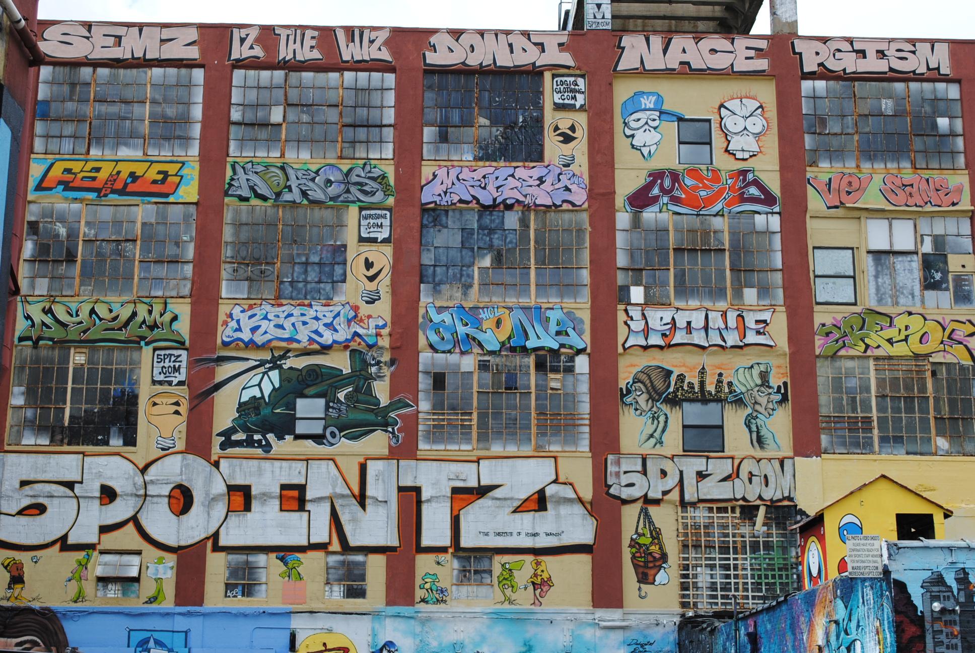 NYC Diary:: 5 Pointz.