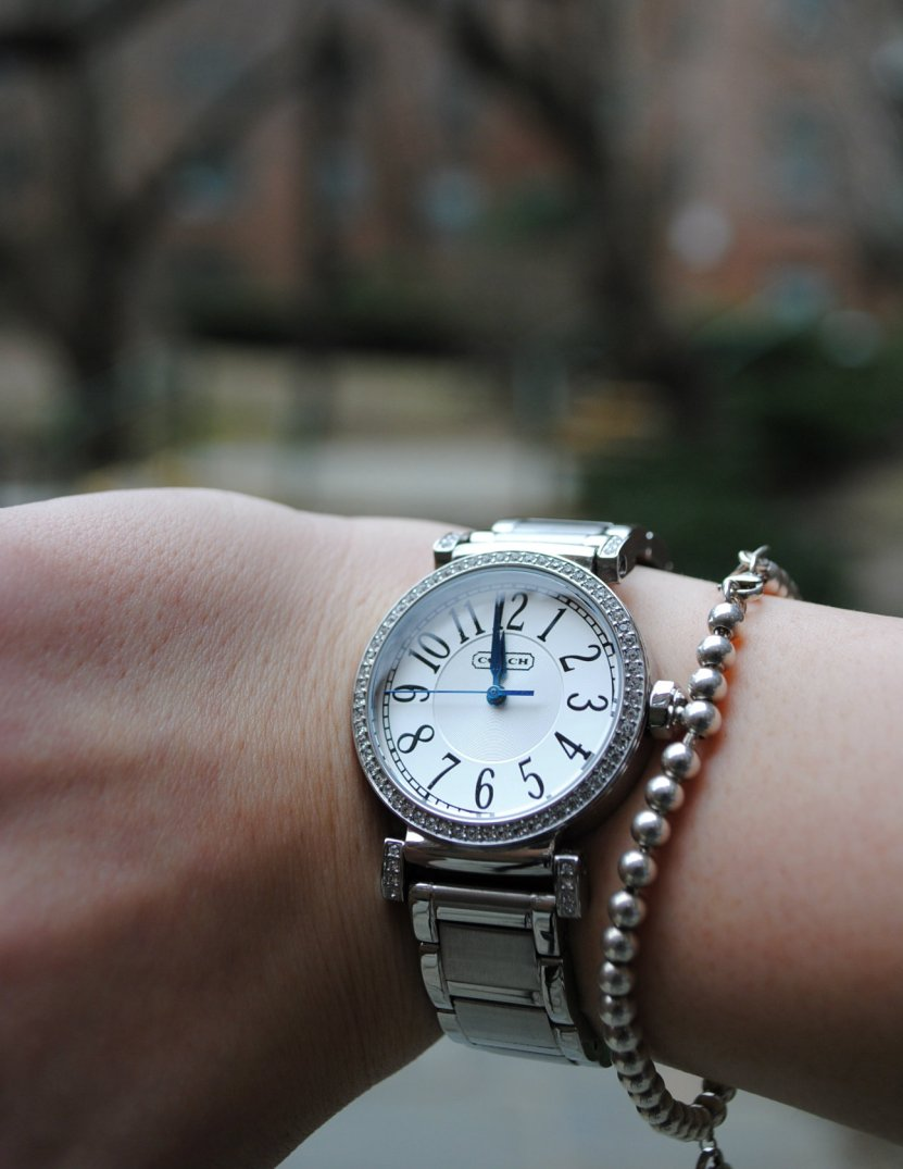Watch-Coach Bracelet-Tiffany's.